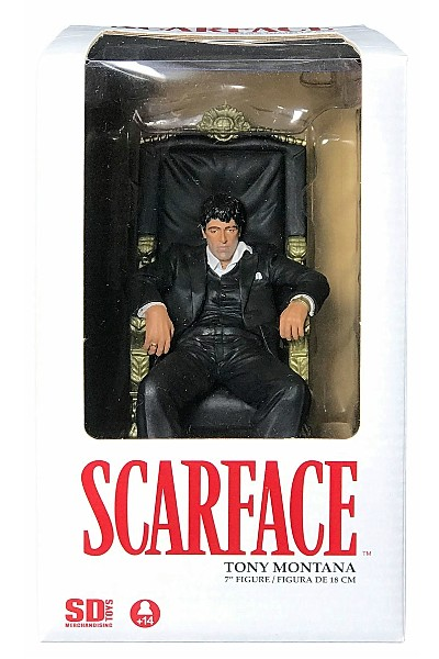 SD Toys Scarface Tony Montana in Chair 7 Inch Figure
